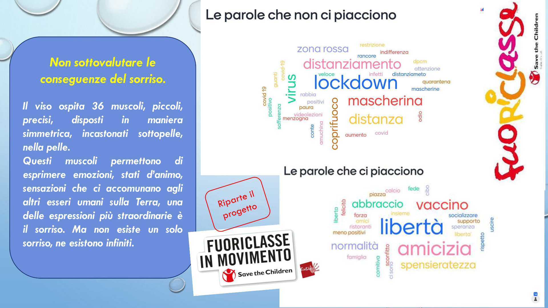 Riparte Fuoriclasse in movimento in collaborazione con Save the Children  - Anno scolastico 2020/2021